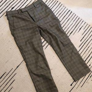 ZARA plaid work pants